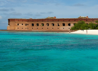 fort jeferson beautiful-scenery-in-the-dry-tortugas